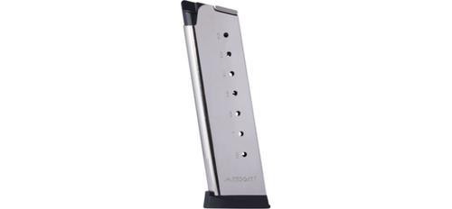 Mec-Gar 1911 MAG- .45 - 8 ROUNDS - FLUSH FIT - NICKEL?>
