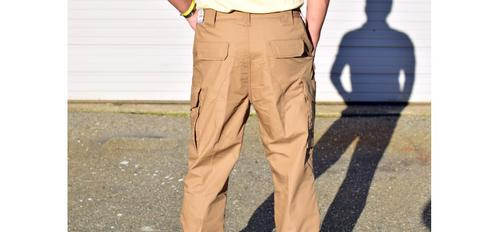 Elastic Waist Operation Tactical Pants - Coyote Brown - 28x34?>