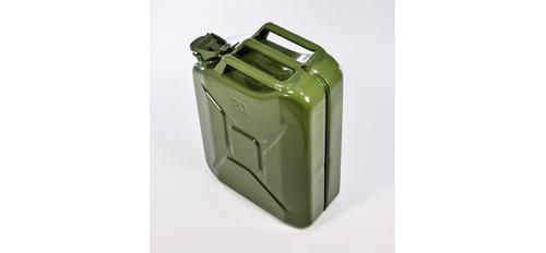 Steel Jerry Can - Army Green - 20 Litre?>