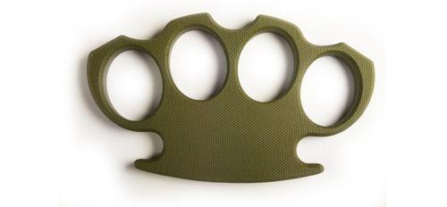 Tactical G10 Knuckle Olive Drab Green?>