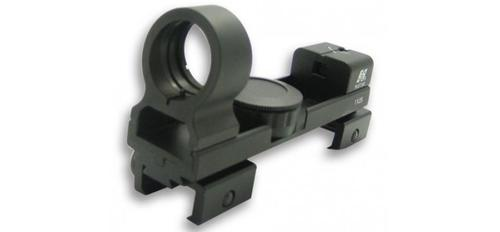 1X25 COMPACT RED DOT SIGHT WEAVER & .22 BASE/BLACK?>