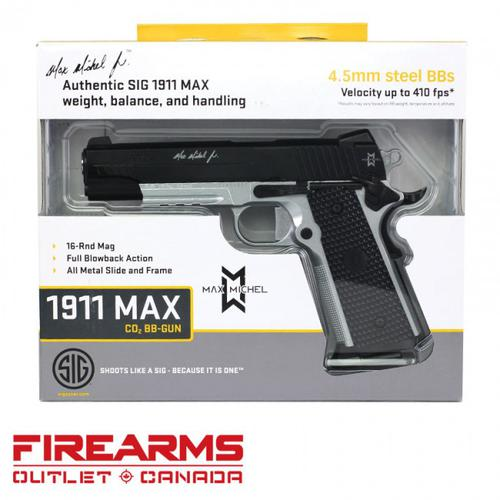 Sig Sauer 1911 MAX Air Pistol - CO2, BB?>