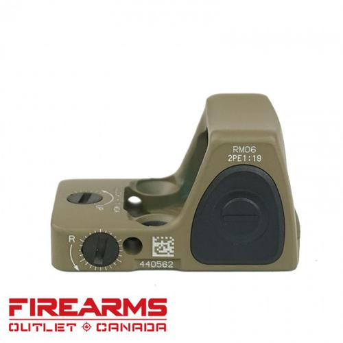 Trijicon RM06 RMR Sight Adjustable LED Type 2 - 3.25 MOA, Flat Dark Earth?>