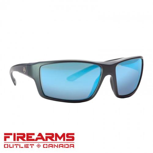 Magpul Eyewear Summit - Polarized, Gray/ Rose, Blue Mirror [MAG1023-930]?>
