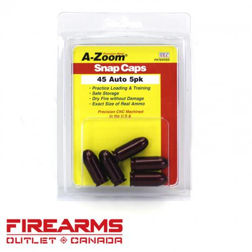 A-Zoom Snap Caps - .45 ACP, 5pk [15115]?>
