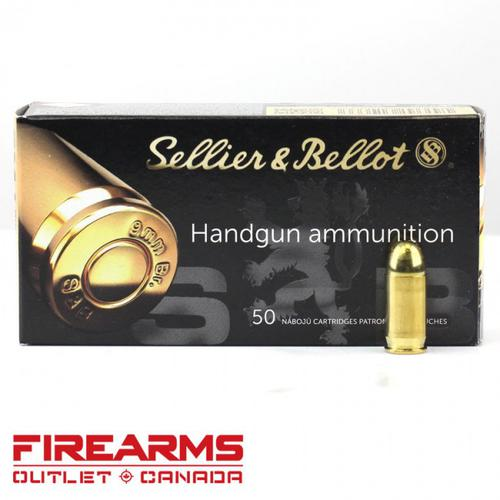 Sellier & Bellot - .380 Auto, 92gr, FMJ, Box of 50?>