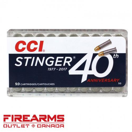 CCI Stinger - .22LR, 32gr., CPHP, Box of 50 [0050]?>