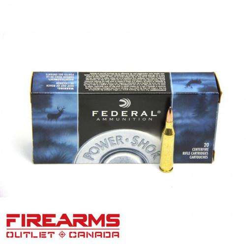 Federal Power-Shok - .243 Win., 100gr., SP, Box of 20 [243B]?>