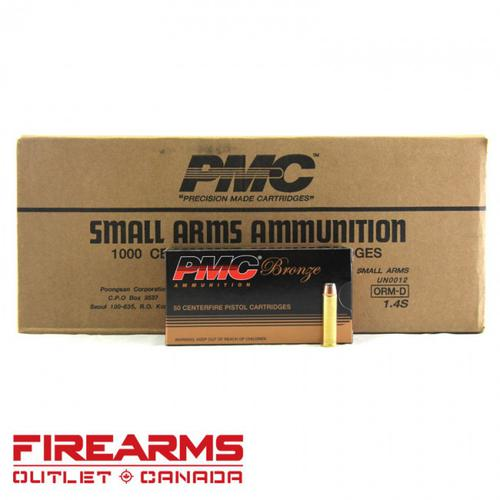 PMC Bronze - .357 Mag, 158gr, JSP, Case of 1,000 [357A]?>