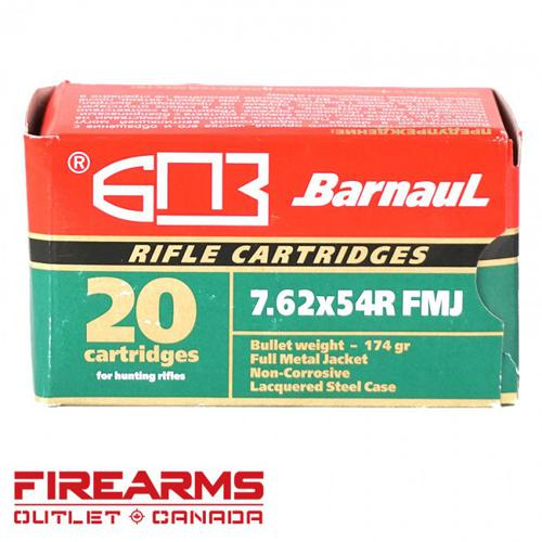 Barnaul/MFS - 7.62x54R, FMJ, Box of 20 [2317575]?>