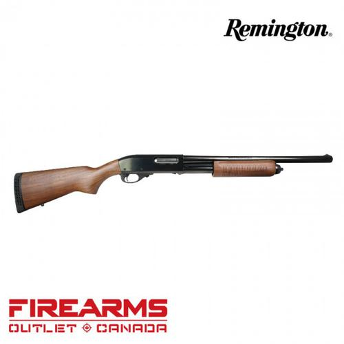 "Remington 870 Police Magnum Walnut Furniture w/Blued Finish - 12GA, 2-3/4"" or 3"", 18"" Barrel, 5-Shot [24899]?>"