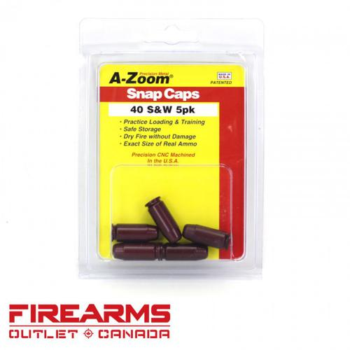 A-Zoom Snap Caps - .40 S&W, 5pk [15114]?>