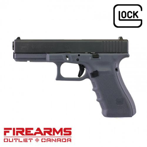 "Glock 17 Gen 4 Sniper Grey - 9mm, 4.5"" [PG1750201GF]?>"
