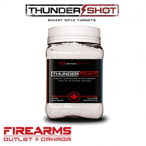 Gryphon Energetics Thunder Shot Exploding Binary Targets - 1 lb.?>