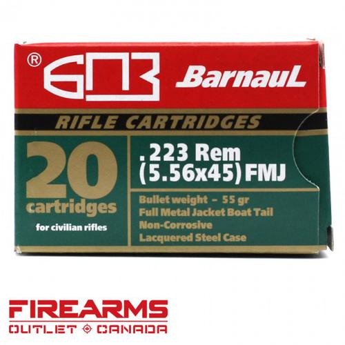 Barnaul/MFS - .223 Rem, 55gr, FMJBT, Box of 20?>
