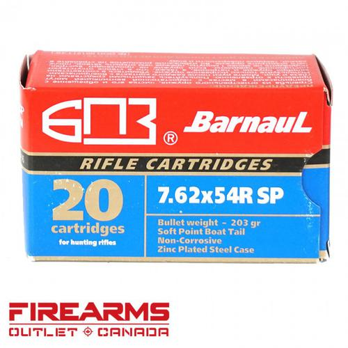Barnaul/MFS - 7.62x54R, 203gr, SP, Box of 20 [2317576]?>