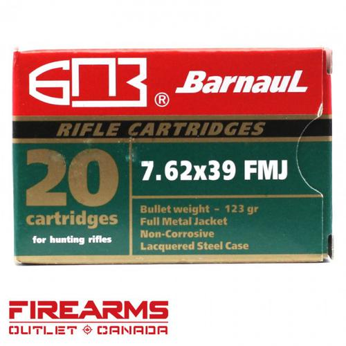 Barnaul - 7.62x39, 123gr, FMJ, Box of 20?>