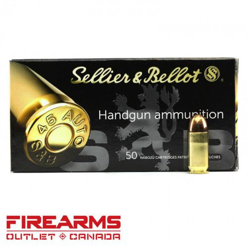Sellier & Bellot - .45 ACP, 230gr, FMJ, Box of 50?>