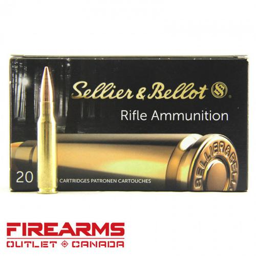 Sellier & Bellot - .308 Win, 147gr, FMJ, Box of 20?>