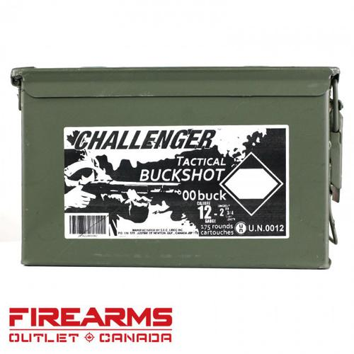 "Challenger - 12GA, 2-3/4"", 00 Magnum Buck, Can of 175?>"