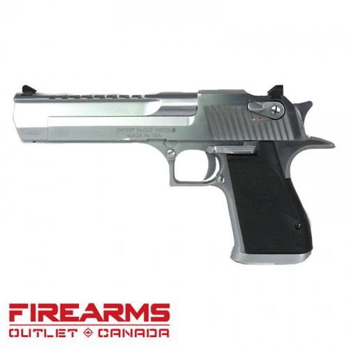 "Magnum Research Desert Eagle XIX - .50 AE, 6"", Brushed Chrome?>"