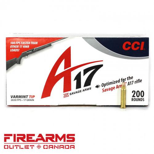 CCI A17 - .17 HMR, 17gr., Varmint Tip, Box of 200?>