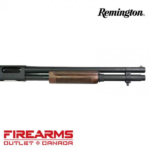 "Remington 870 Police Magnum Walnut Furniture - 12GA, 2-3/4"" or 3"", 18"" Barrel, 7-Shot [24903]?>"