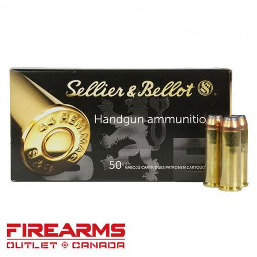 Sellier & Bellot - .44 Mag, 240gr, SP, Box of 50?>