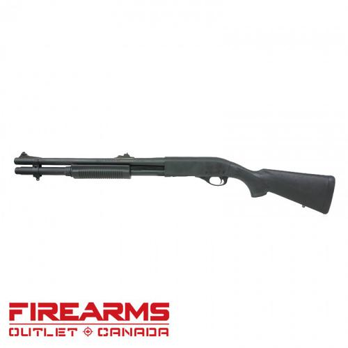 "Remington 870 Police Magnum Synthetic, Rifle Sights  - 12GA, 2-3/4"" or 3"", 18"" Barrel, 7-Shot [24421]?>"