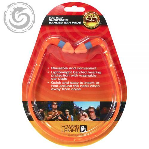 Howard Leight QB2HYG Banded Style earplugs with reusable pods?>