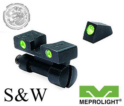 MEPROLIGHT LTD Tru-Dot Tritium Night Sight for S&W K, L & N Frames?>
