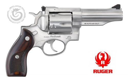 Ruger 5050 Redhawk Revolver 45 ACP/45 LC 4.2″ 6rd Stainless?>