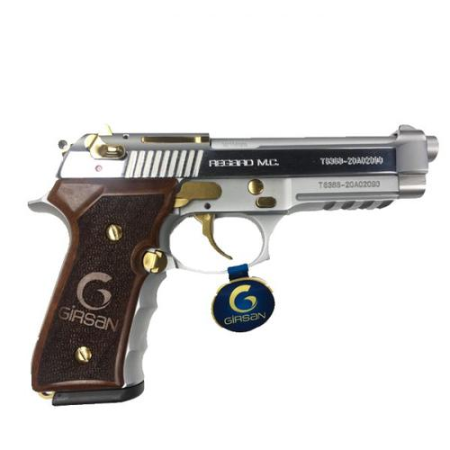 Girsan Regard MC 9mm Stainless /w Gold Accents?>
