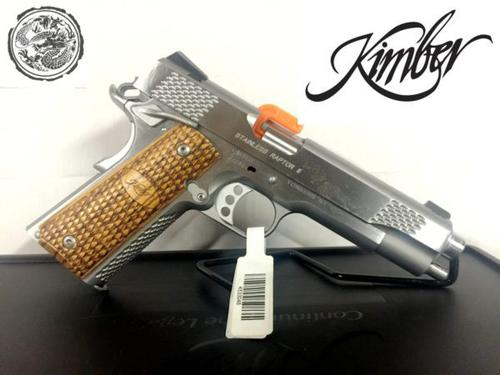 Kimber1911 Raptor2 stainless steel 45ACP?>