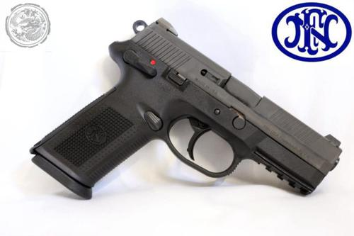 FN FNX-9 9mm, DA/SA, Black?>
