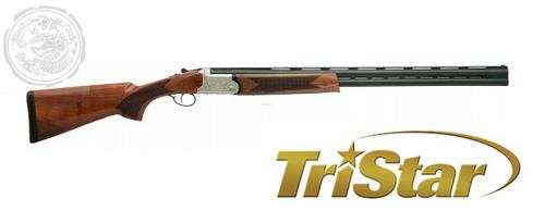TRISTAR UPLAND HUNTER O/U 12GA 28″3″WALNUT SILVER RECEIVER?>