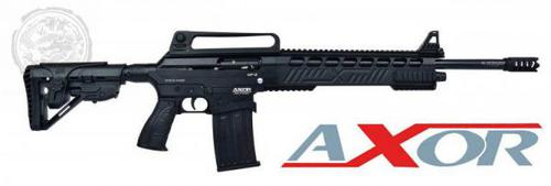 Axor MF-2 Semi Shotgun 12 Ga 20″ Barrel 3″ Cham Non-restricted-Black?>