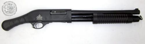 Canuck Regulator Pump Shotgun – 12GA, 2-3/4″ or 3″, 14″ Barrel, 4+1 Shots-2 stocks COMBO?>