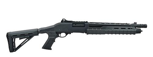 Canuck Commander Pump Shotgun 12 Ga 3″ Chamber 14″Barrel-Black?>