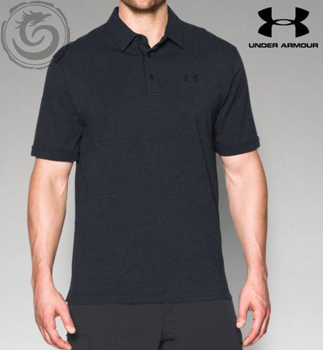 Under Armour Tactical Charged Cotton Men's Tactical Polo Shirt-Black?>