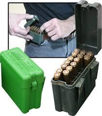 MTM Case-Gard 20 RD BELT AMMO BOX-Large Rifle-Green?>