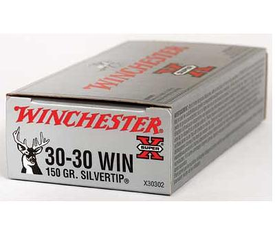 WINCHESTER SUPER-X 30-30 WIN. 150 GR. SILVERTIP – Case (200 Rounds)?>