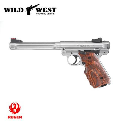 RUGER Mark IV Hunter .22LR – Stainless?>