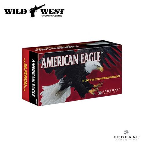 Federal Americal Eagle .38 SPL Lead Round Nose – 50 Rounds?>
