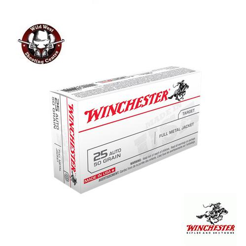 Winchester .25 Auto 50gr. FMJ – 50 Rds?>