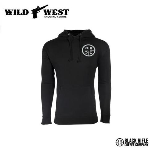 Black Rifle Coffee Pull Over Hoodie – Small?>