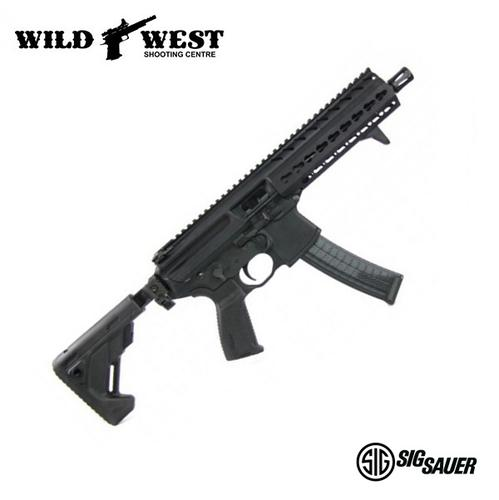 Sig Sauer MPX SBR 8″ w/ Folding,Collapsing Stock 9mm?>