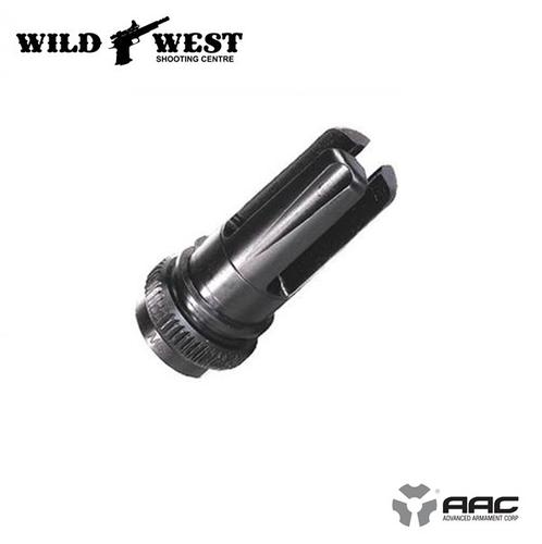 Advanced Armament Blackout Flash Hider 7.62mm 5/8×24?>
