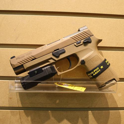 Sig Sauer P320 M17 4.7″ Coyote w/INFORCE 9mm?>