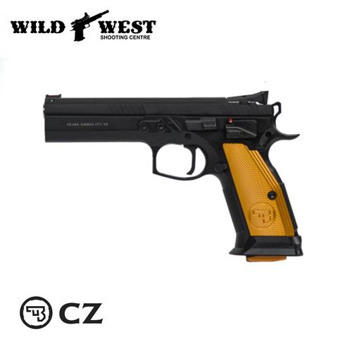 CZ 75 Tactical Sport Orange .40 S&W?>